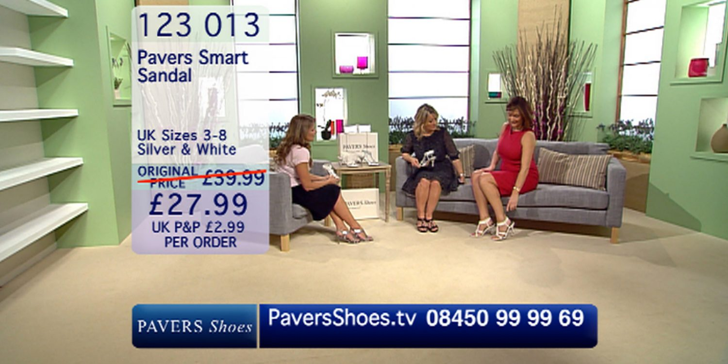 Pavers launches world's first 24-hour shoe shopping channel