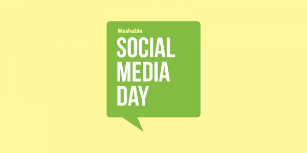 Social media day speech bubble