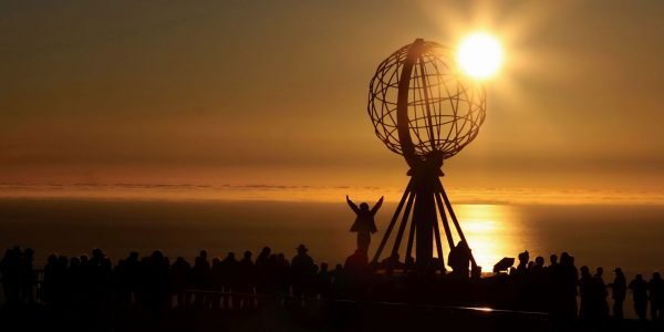 Sunset over the North Cape