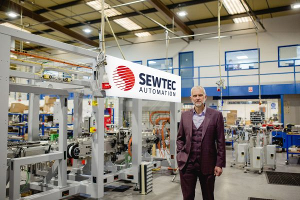 Sewtec Automation managing director Mark Cook