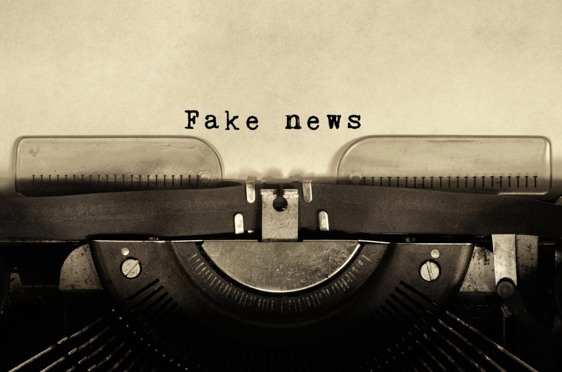 Social media companies and the fight against fake news