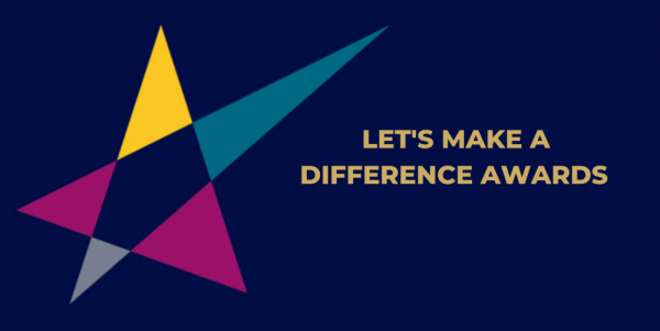 Let's make a differnce award logo